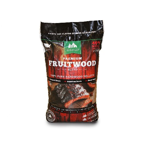 Green Mountain Grills fruitwood blend pellets