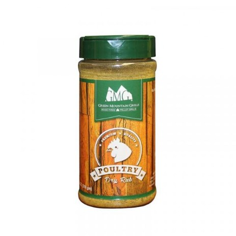 Green Mountain Grills rub poultry